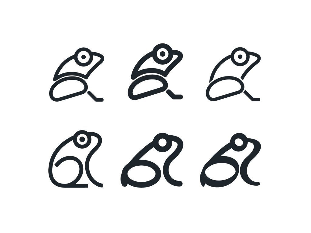 Frog images for logo