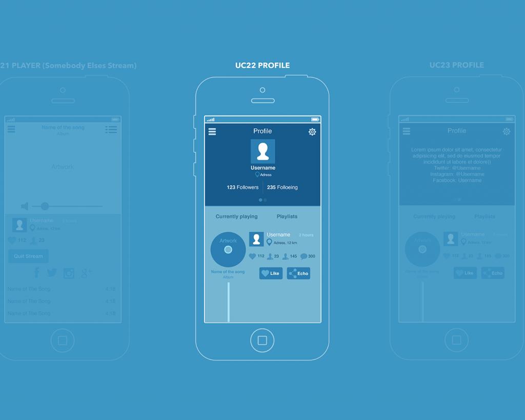 ux design music app