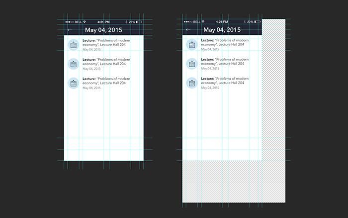 mobile design photoshop optimization 4