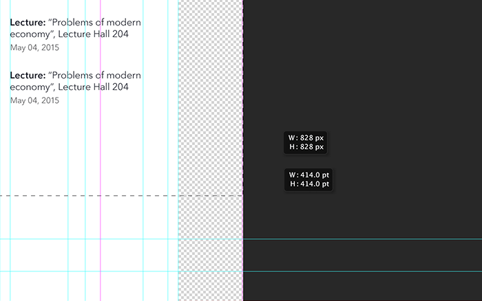 mobile design photoshop optimization