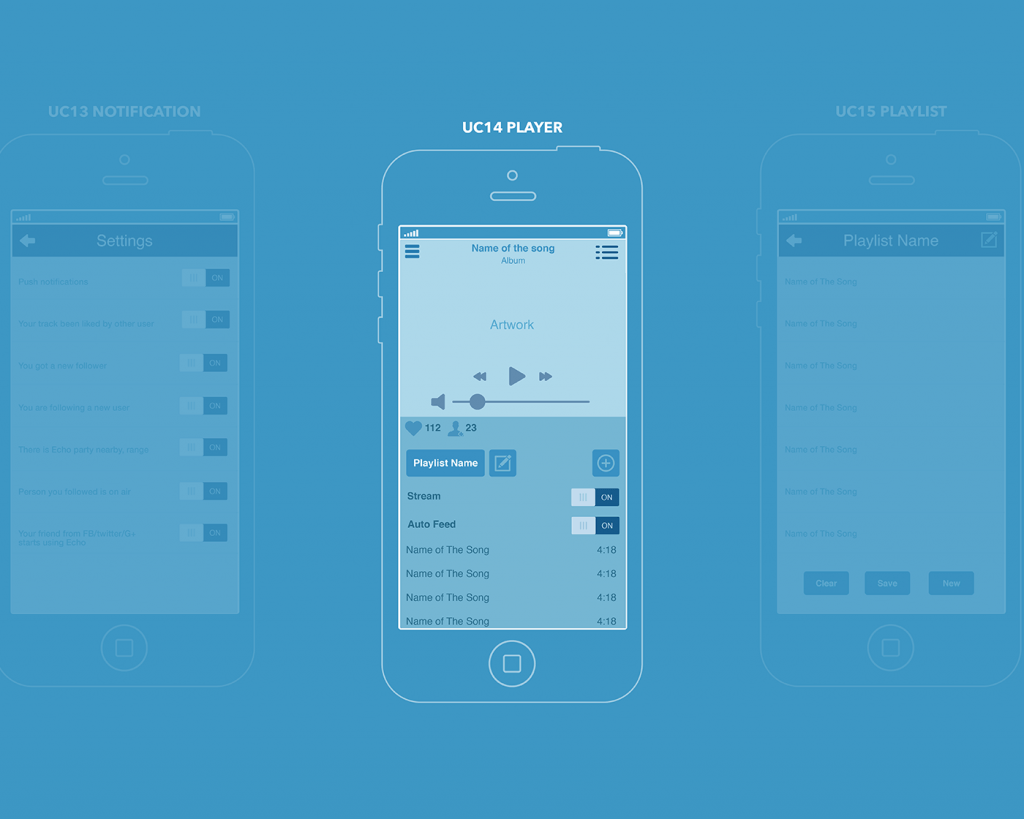 ux design music app