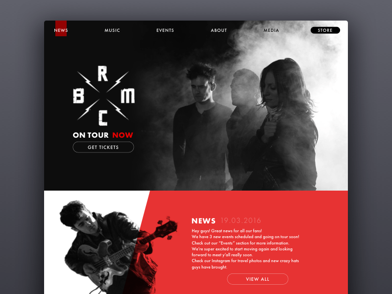 website design concept tubikstudio