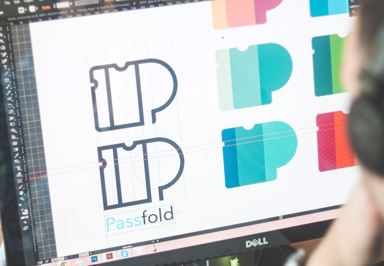 Case Study: PassFold. Designing Logo.