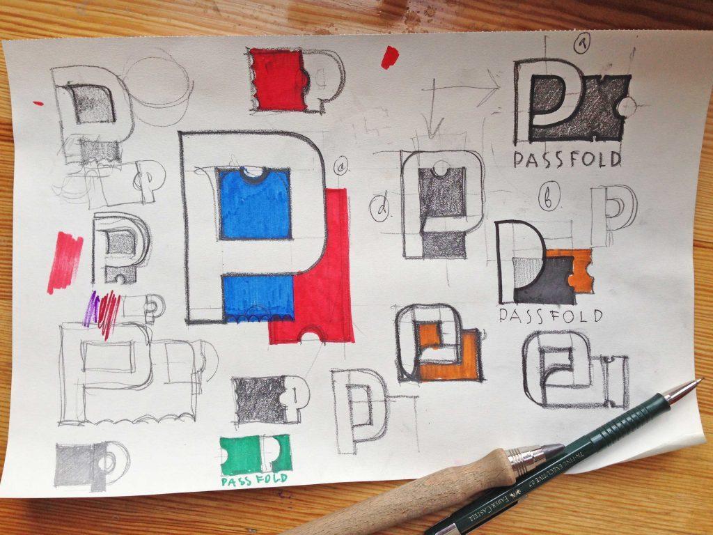 PassFold logo by Tubik Studio