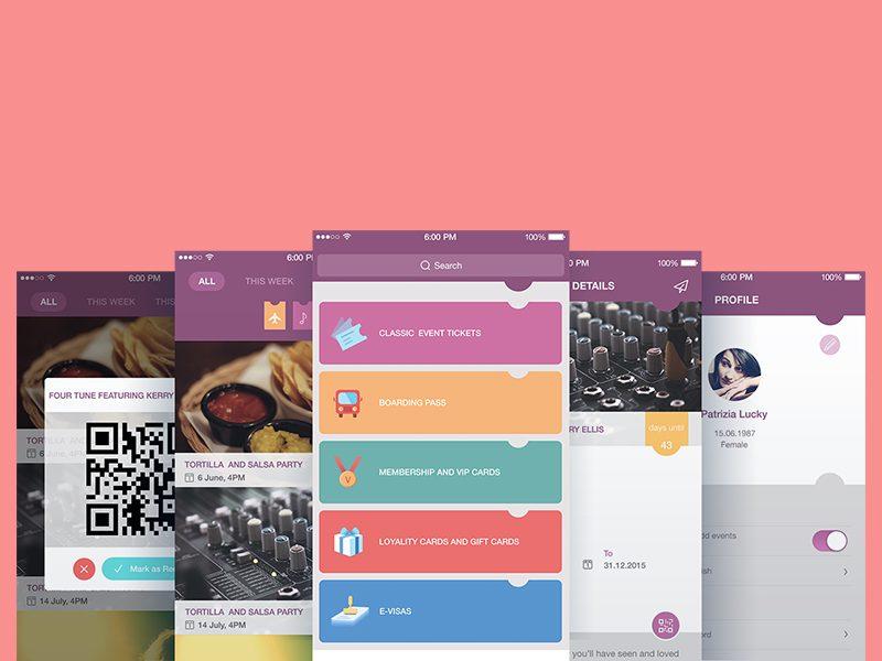 Screens by Tubik Studio