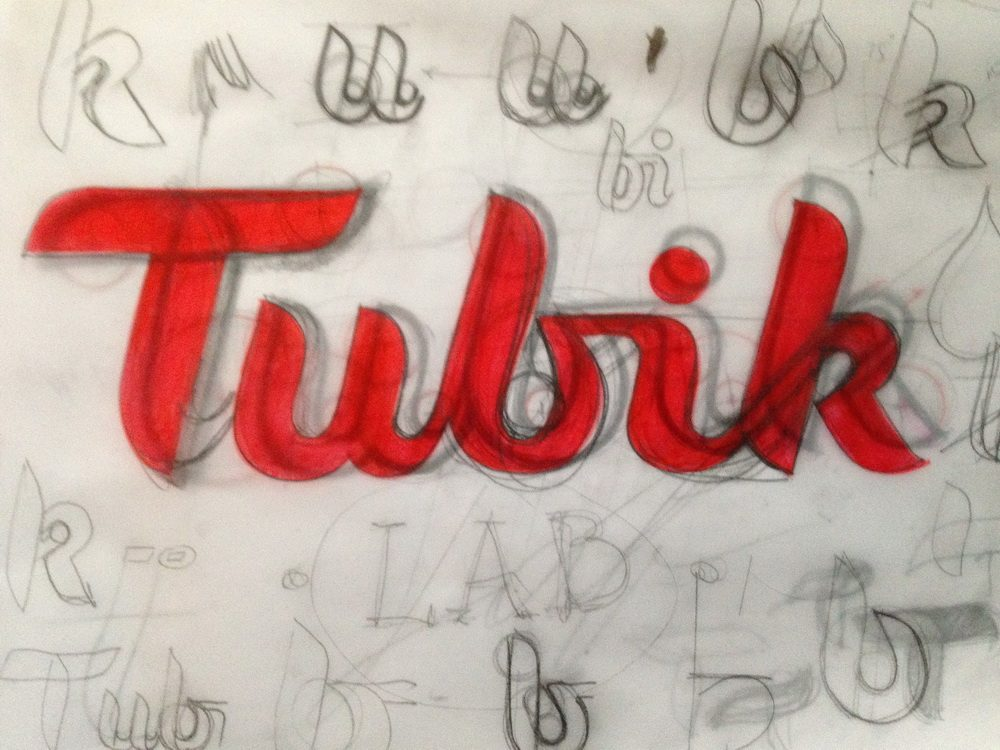 Tubik Studio lettering