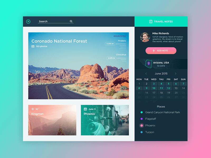 UI design tubik studio