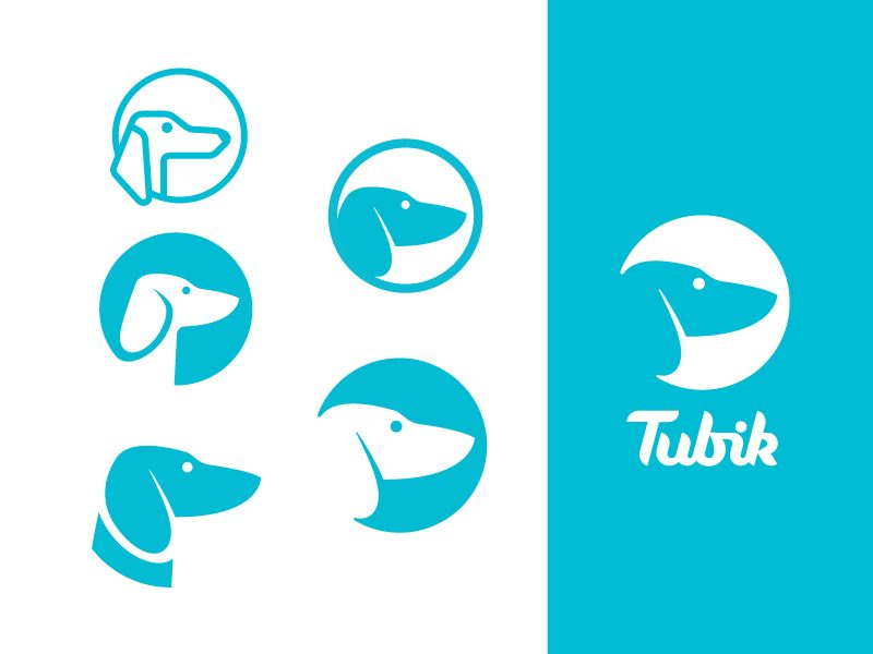 Tubik Studio logo options