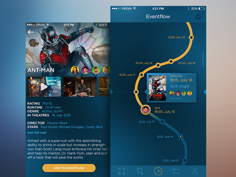 eventflow app design
