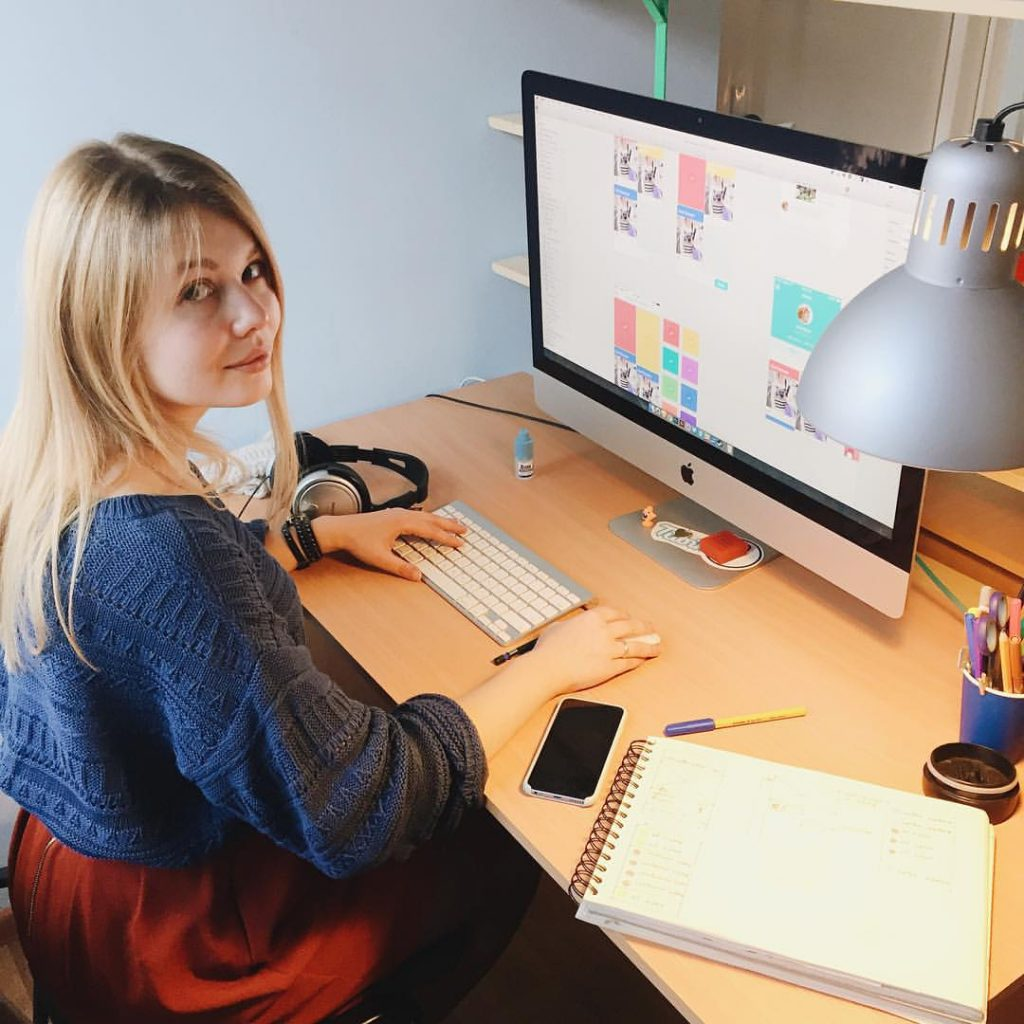 Saily UI design tubikstudio