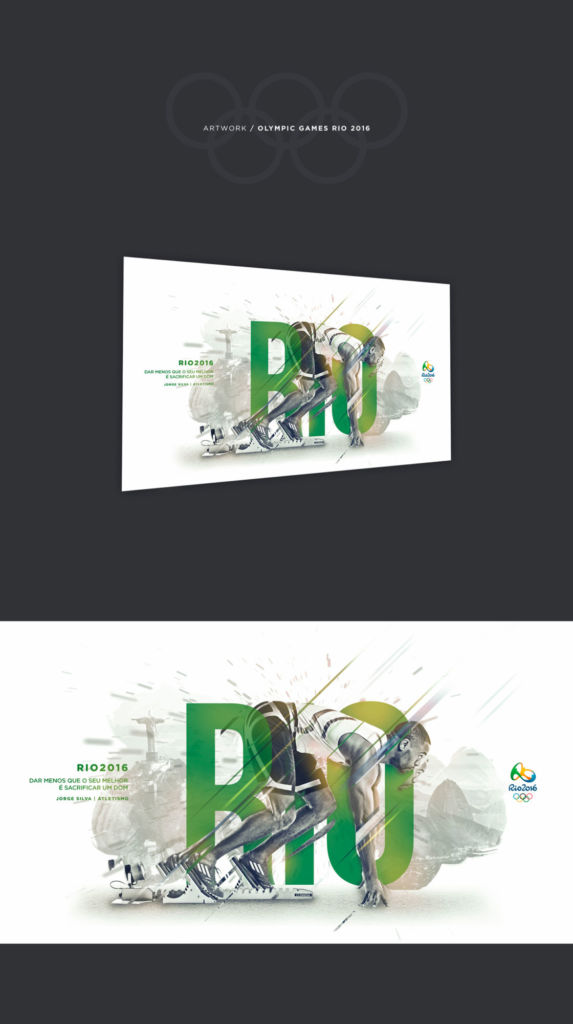 Rio poster graphic design