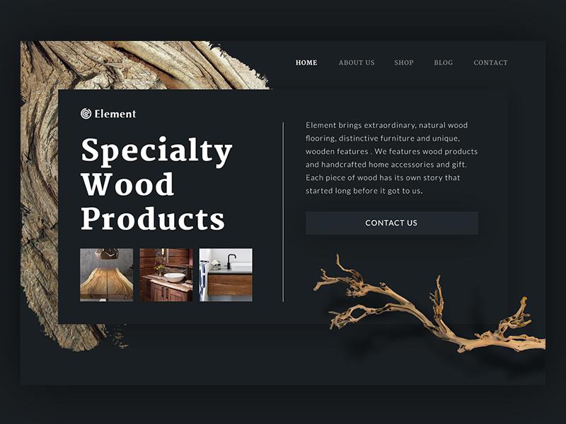 tubik studio design landing page