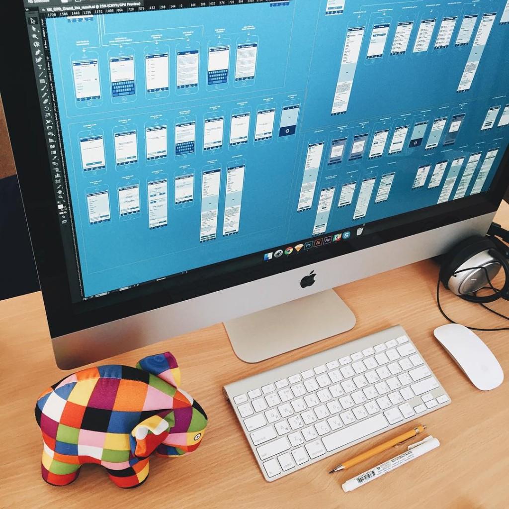 UI design wireframes