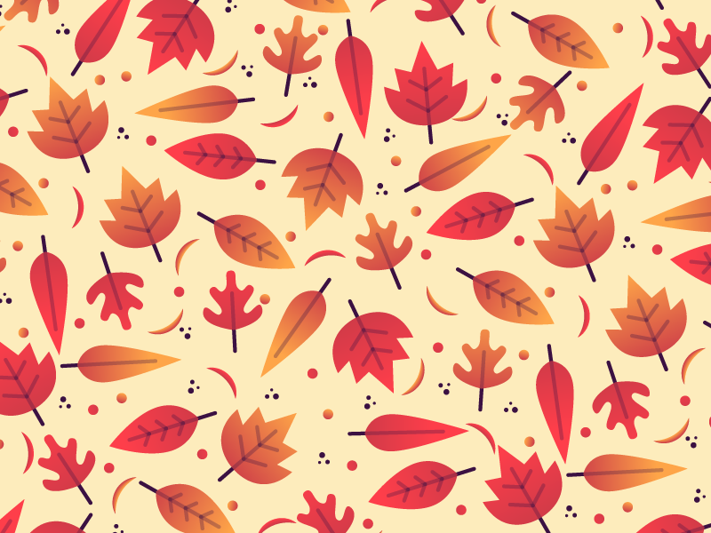autumn graphic design