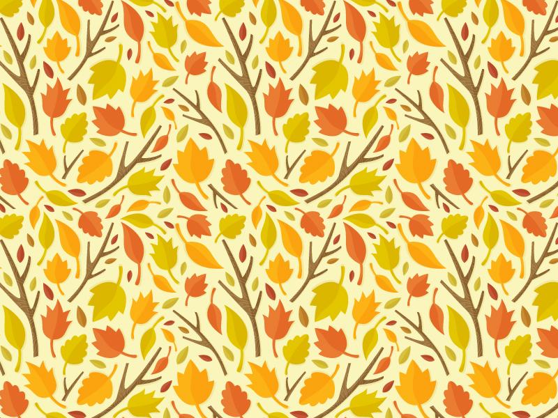 autumn pattern illustration