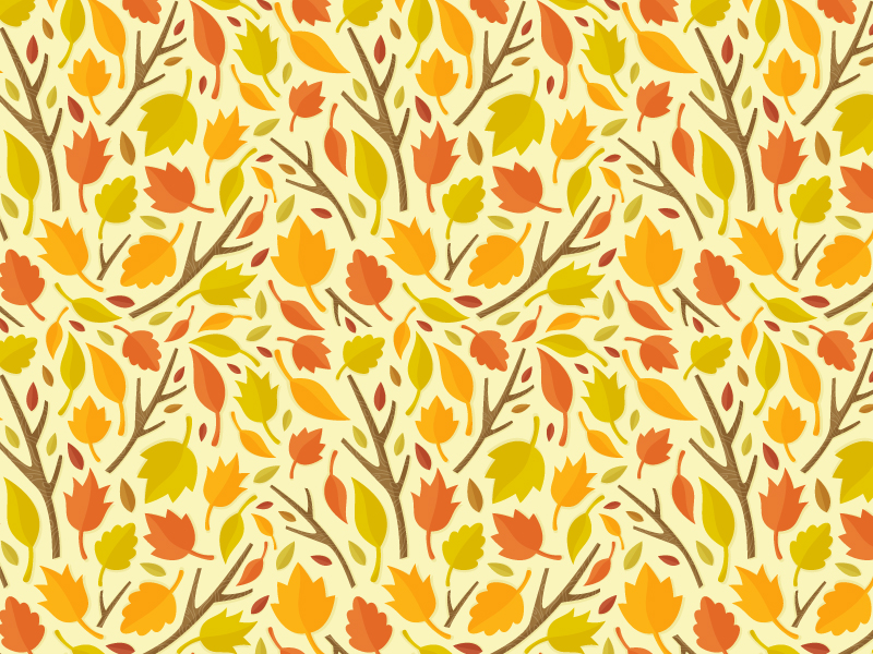 autumn pattern illustration