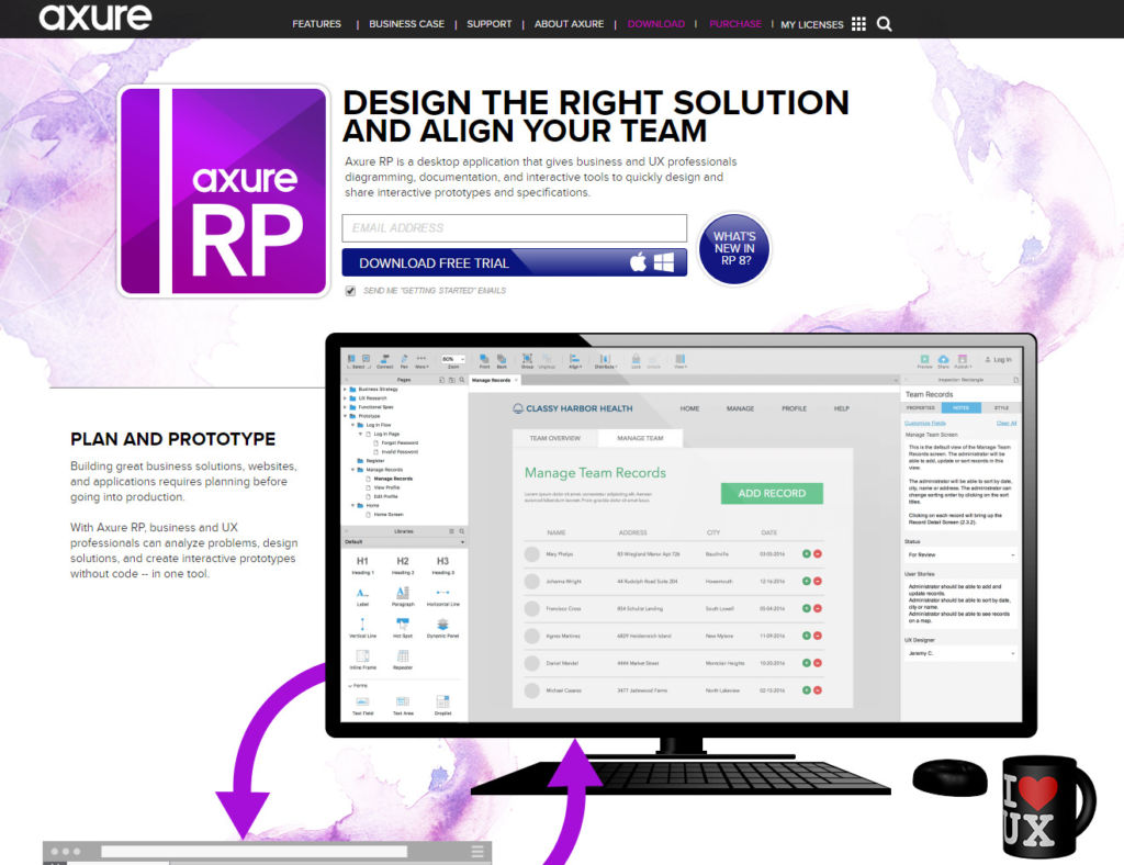 axure prototyping tool