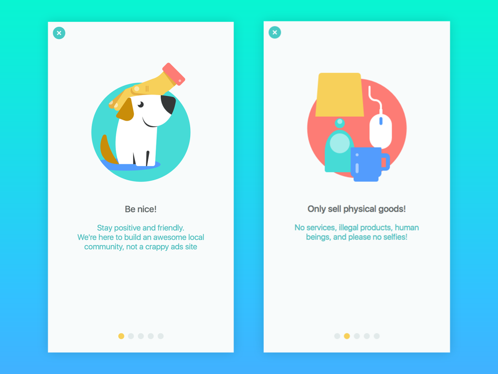 Saily app UI illustration