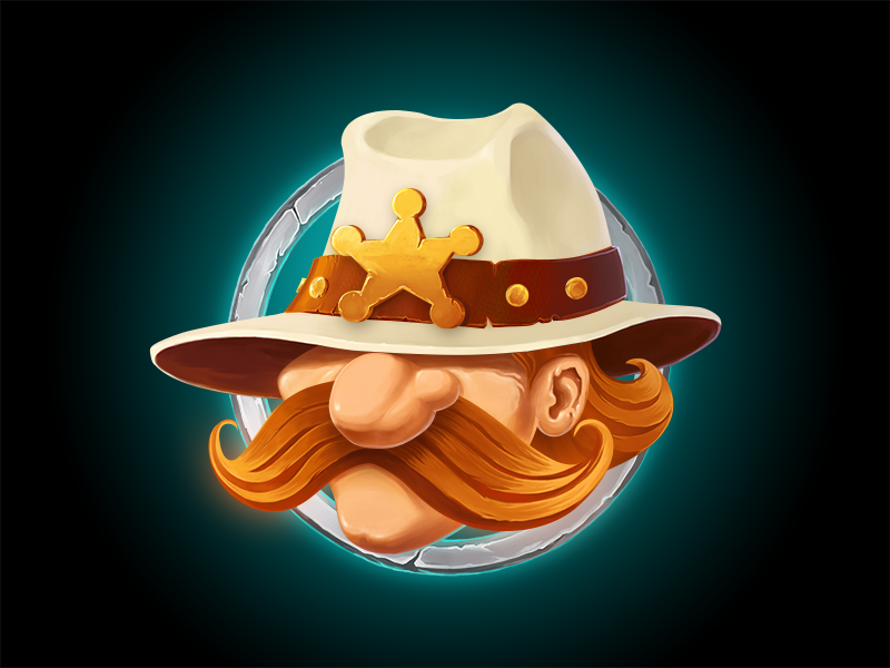 sheriff illustration digital art