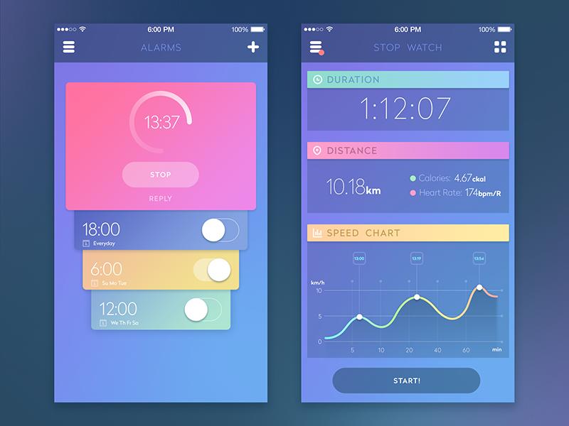 Sport-app-design