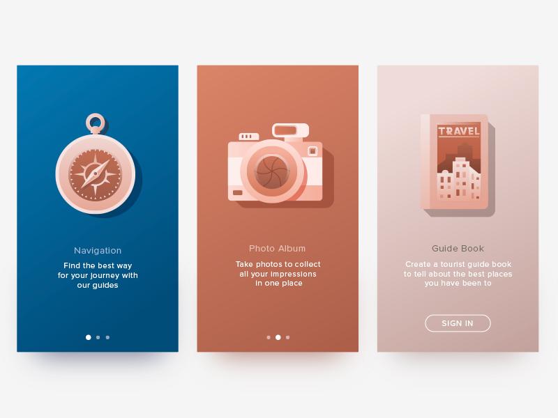 app tutorial graphic design