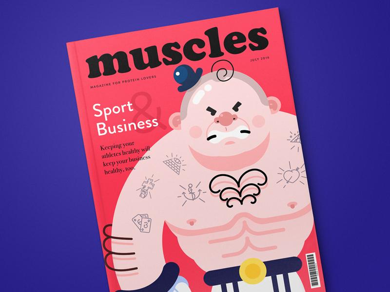 tubik studio magazine design