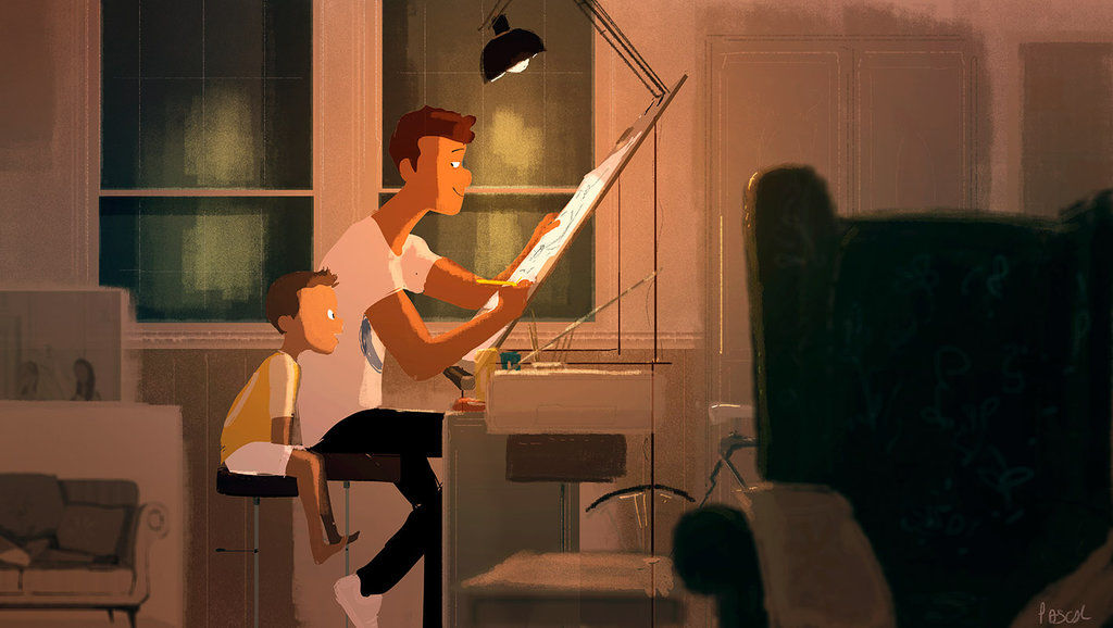 digital illustration by Pascal Campion