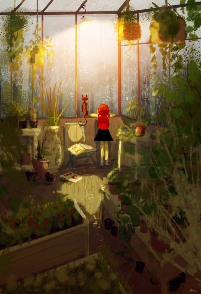 childhood digital art by Pascal Campion
