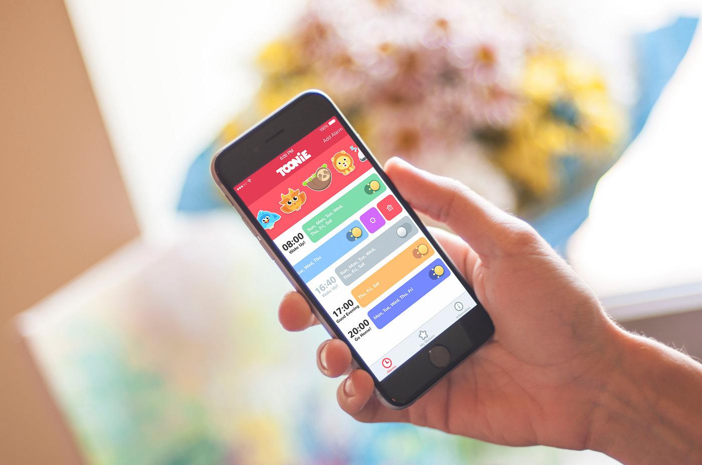 Design Case Study: UI for Toonie Alarm
