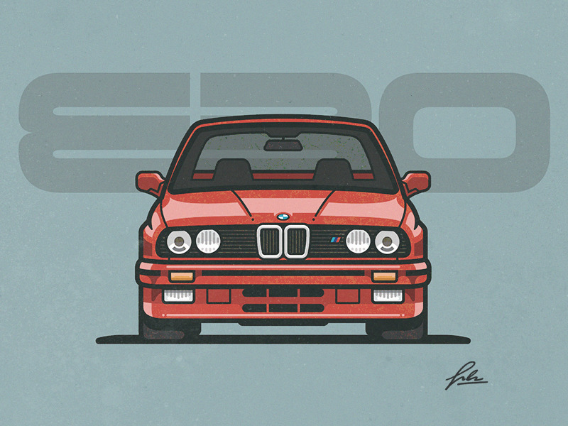 Hit the Road: 35 Stylish Car Illustrations.