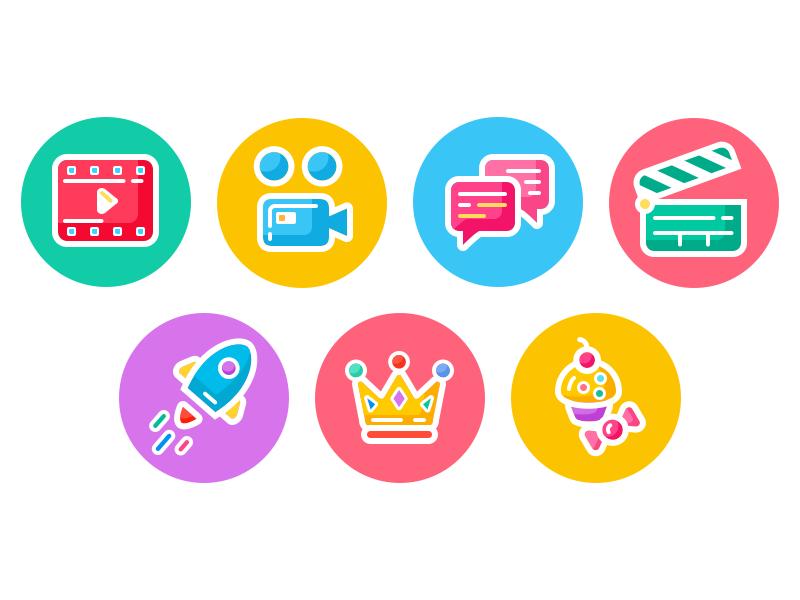 icons design flat
