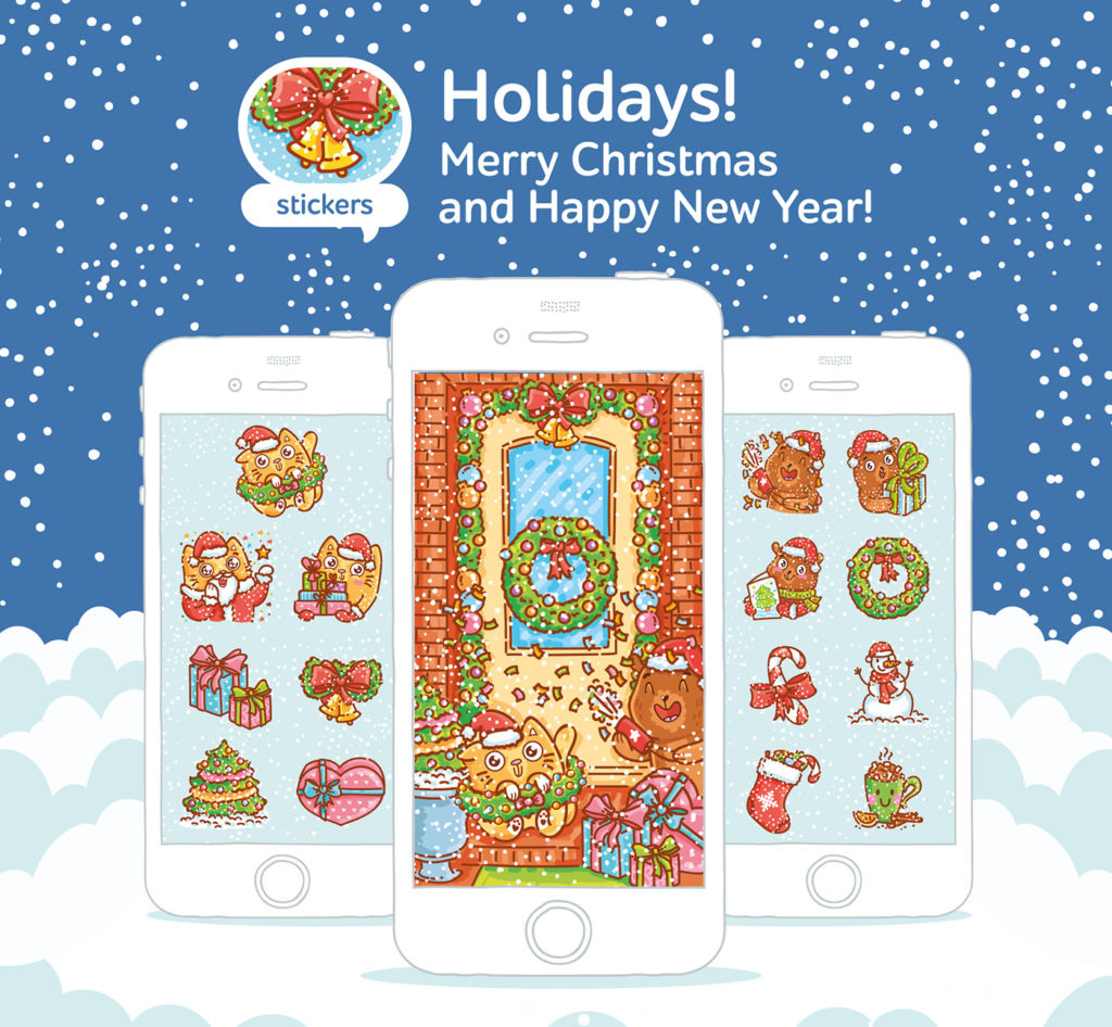 christmas-stickers-cats