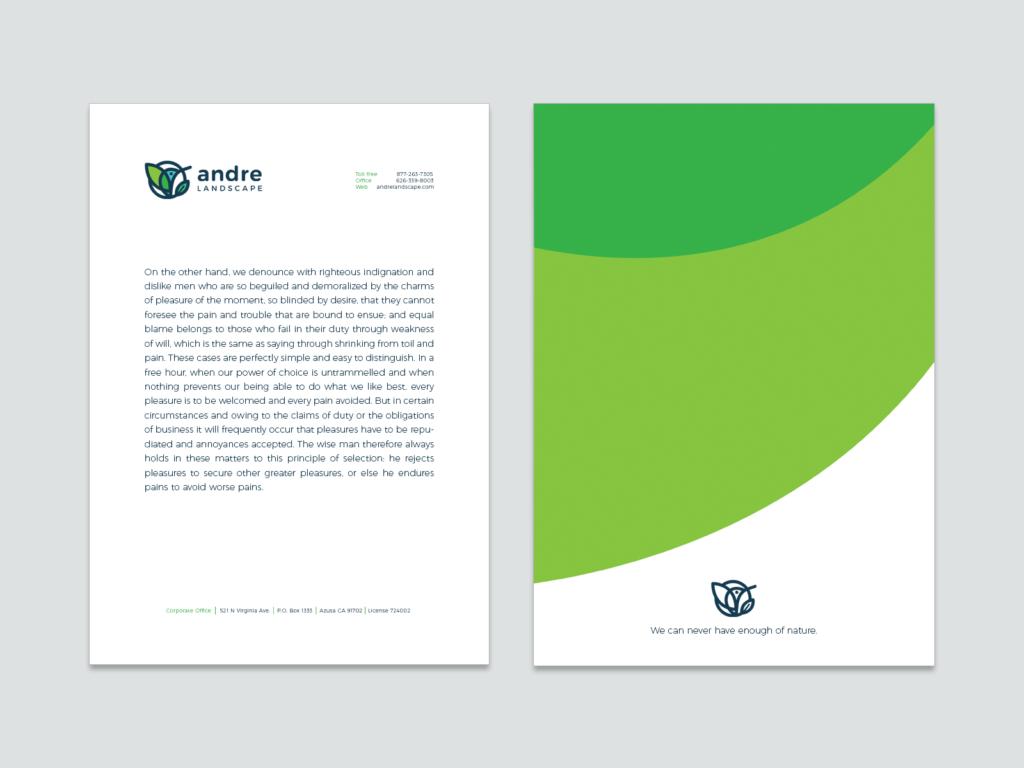 letterhead branding design tubik studio