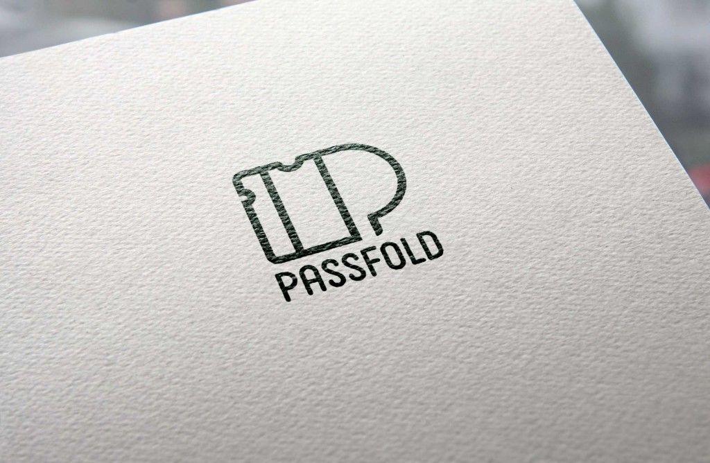 passfold_logo_stroke design