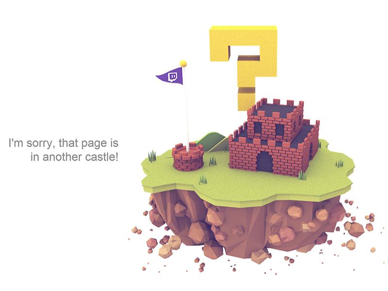 webdesign 404 page