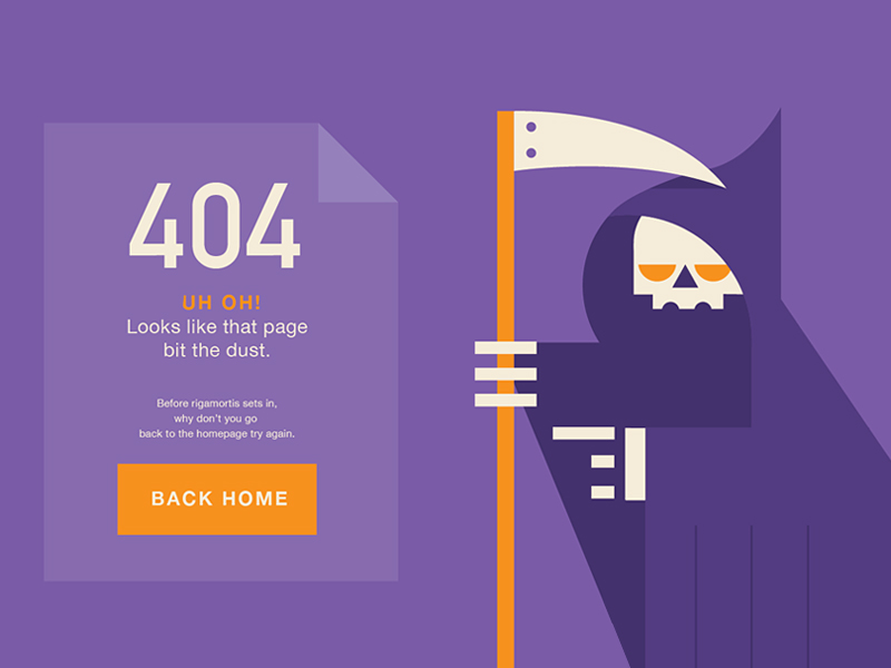 webdesign page 404