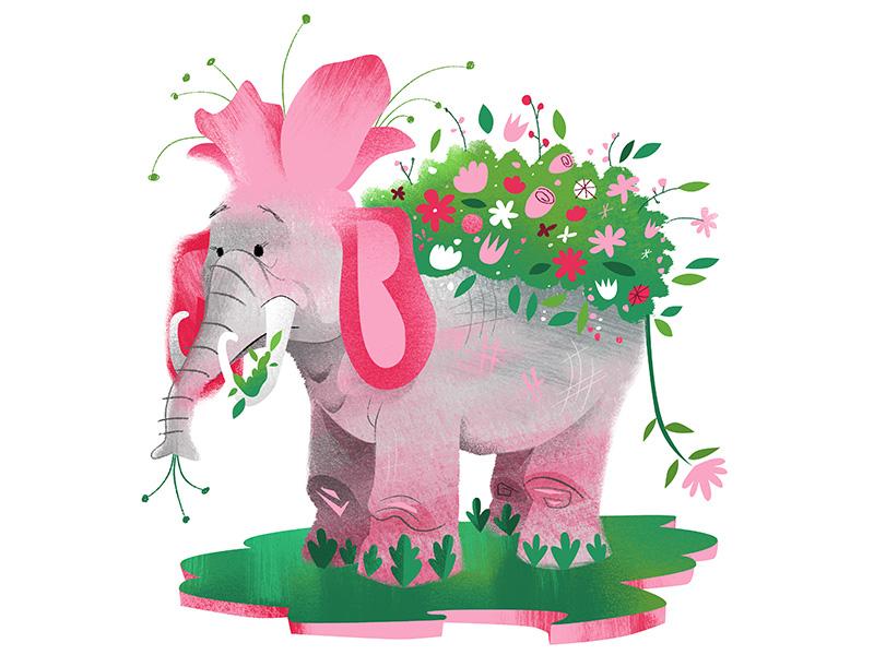 eleflower illustration