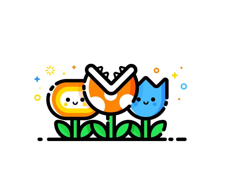 flowers illustration design