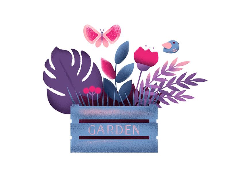 design illustration spring