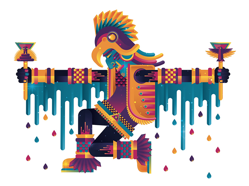 illustration latin america