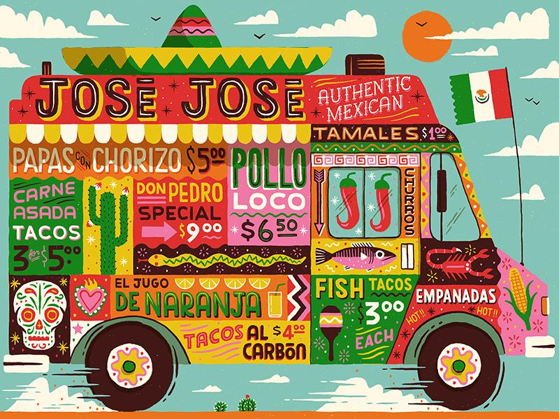 latin america illustration