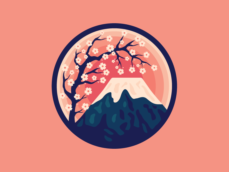 mount-fuji graphic design
