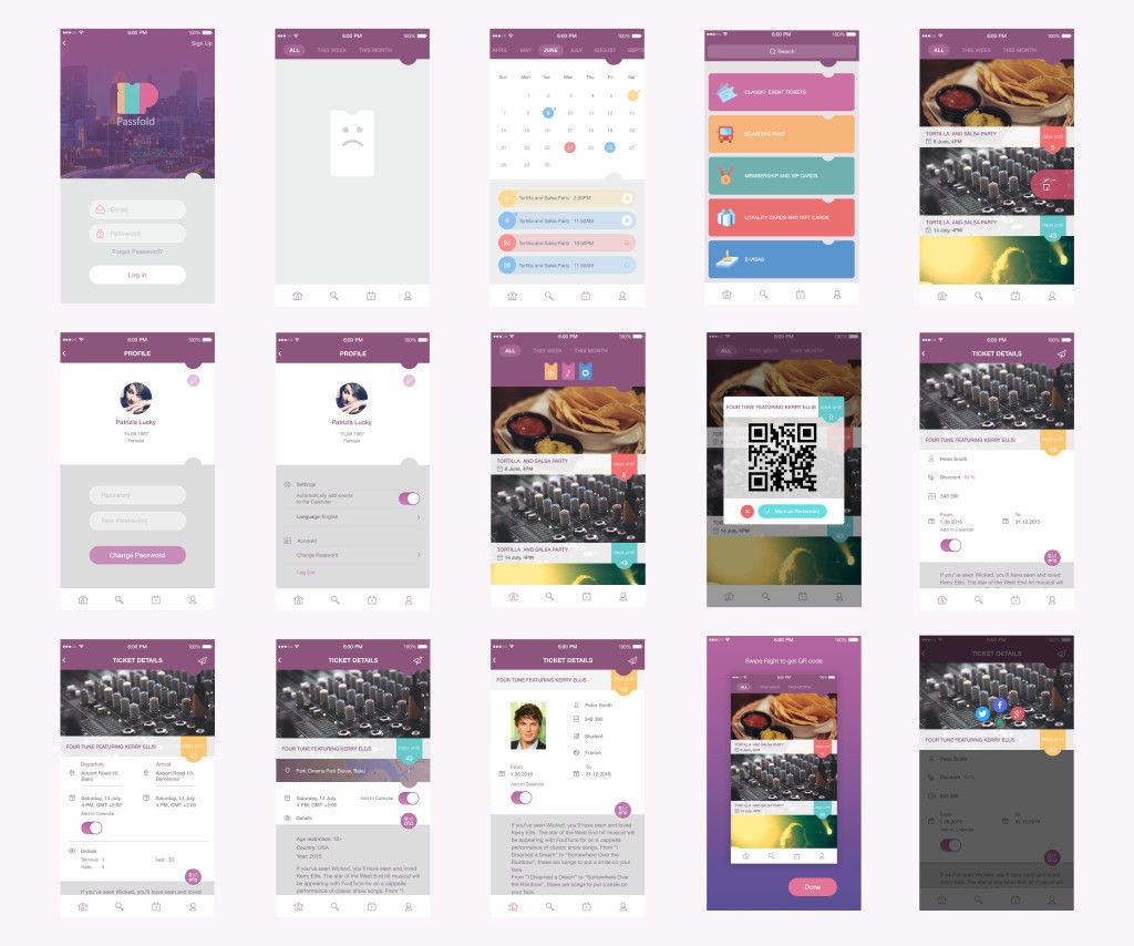 passfold-project-ui-wireframes
