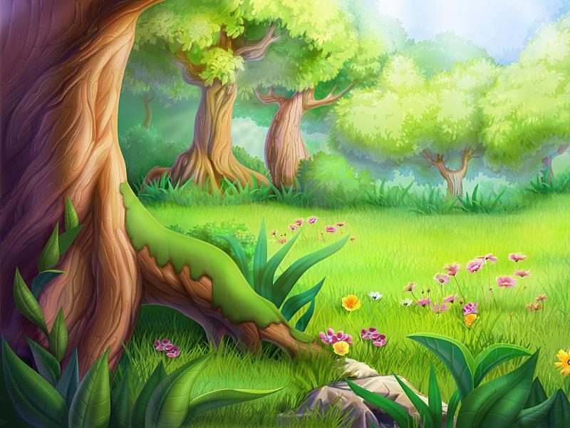spring time illustration design