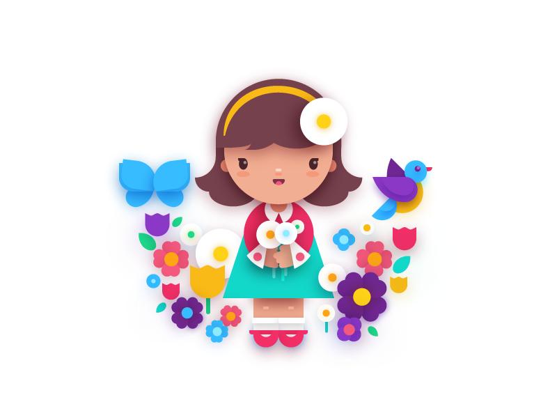spring design illustration