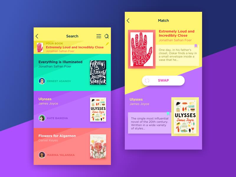 app UI design tubik