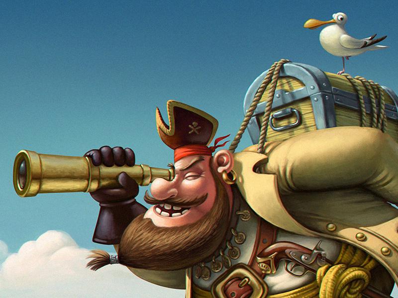 pirate graphic design 13