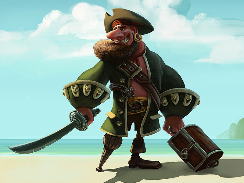 pirate graphic design 14