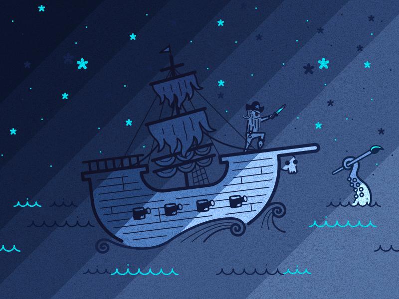 pirate graphic design 17