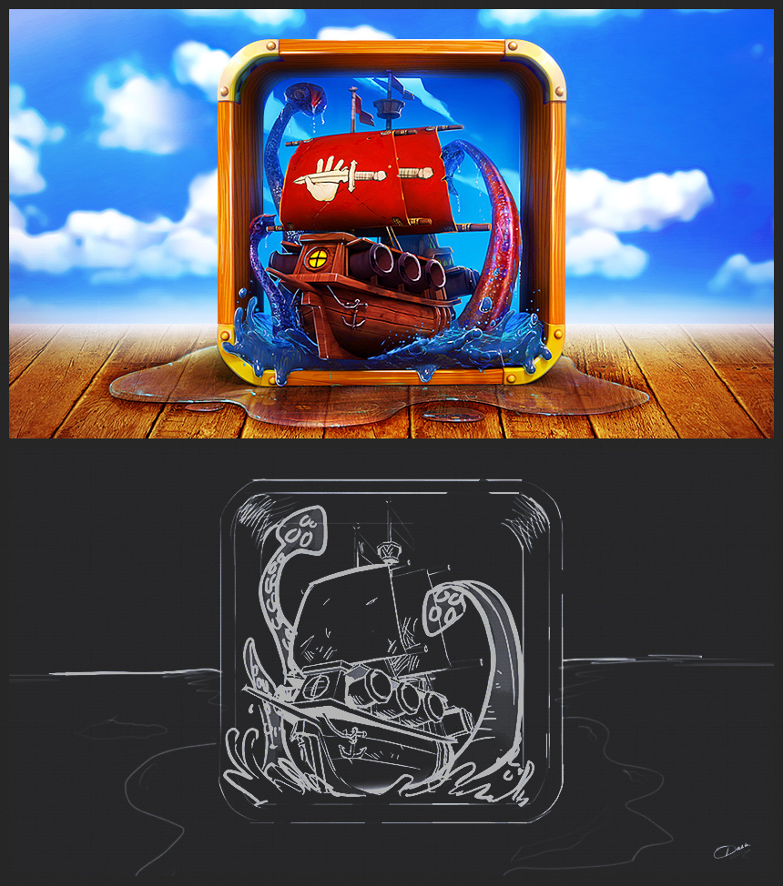 pirate graphic design 2